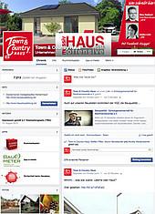 Town & Country Haus im Social Media